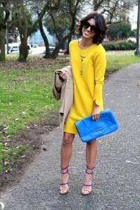 Amarelo: vibrante; alegre; estimulante