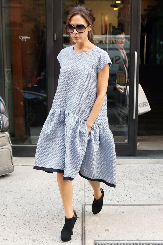 O movimento do vestido deixa tudo mais interessante e foge do básico!