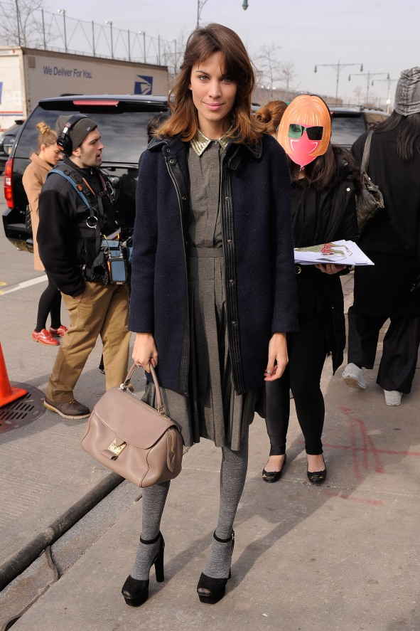 Jason Wu - Arrivals - Fall 2012 Mercedes-Benz Fashion Week