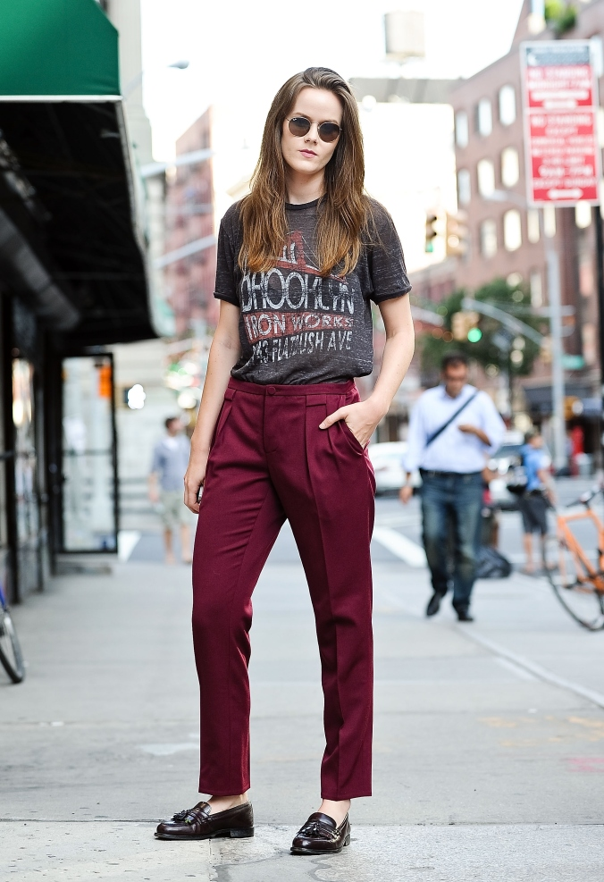 Street Style - Day 0 - New York Fashion Week Spring 2015